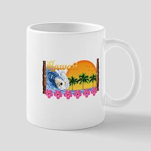 Hawaiian Surfing Mug
