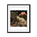Dragon Framed Panel Print