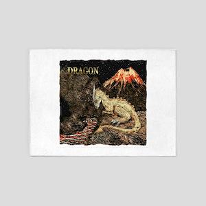 Dragon 5'x7'Area Rug