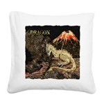 Dragon Square Canvas Pillow