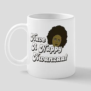 Have a Nappy Kwanzaa! Mug