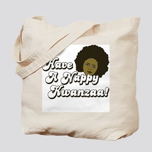 Have a Nappy Kwanzaa! Tote Bag