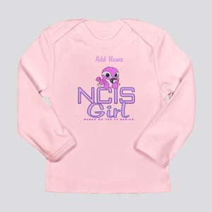 Personalized NCIS Girl Long Sleeve Infant T-Shirt