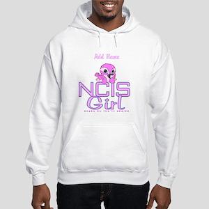 Personalized NCIS Girl Hooded Sweatshirt