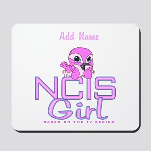 Personalized NCIS Girl Mousepad