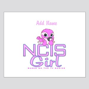 Personalized NCIS Girl Small Poster