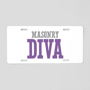 Masonry DIVA Aluminum License Plate