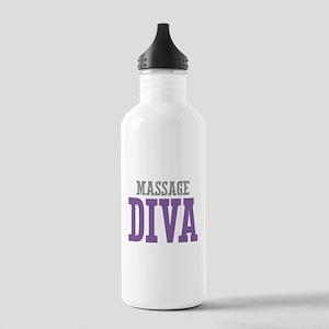 Massage DIVA Stainless Water Bottle 1.0L
