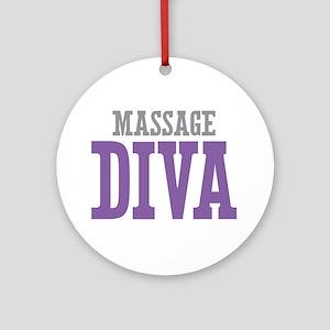 Massage DIVA Ornament (Round)