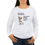 Schizo Dog Long Sleeve T-Shirt