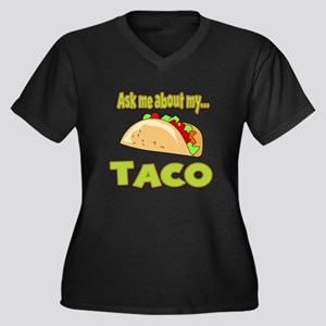 Funny Ask Me About My Taco Innuendo Design Women's