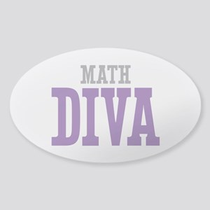 Math DIVA Sticker (Oval)