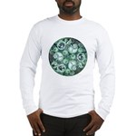Celtic Stormy Sea Mandala Long Sleeve T-Shirt