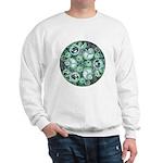 Celtic Stormy Sea Mandala Sweatshirt