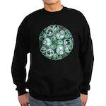 Celtic Stormy Sea Mandala Sweatshirt (dark)
