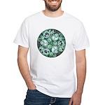 Celtic Stormy Sea Mandala White T-Shirt