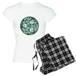 Celtic Stormy Sea Mandala Women's Light Pajamas