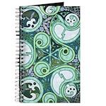 Celtic Stormy Sea Mandala Journal