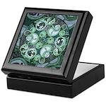 Celtic Stormy Sea Mandala Keepsake Box