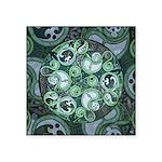 Celtic Stormy Sea Mandala Square Sticker 3