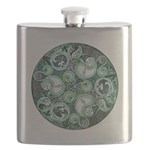 Celtic Stormy Sea Mandala Flask
