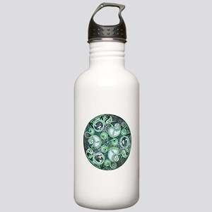 Celtic Stormy Sea Mandala Stainless Water Bottle 1