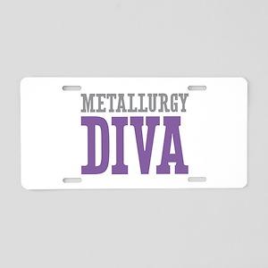 Metallurgy DIVA Aluminum License Plate
