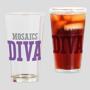 Mosaics DIVA Drinking Glass