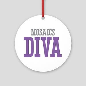 Mosaics DIVA Ornament (Round)