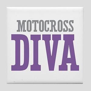 Motocross DIVA Tile Coaster