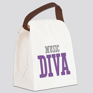 Music DIVA Canvas Lunch Bag