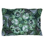 Celtic Stormy Sea Mandala Pillow Case