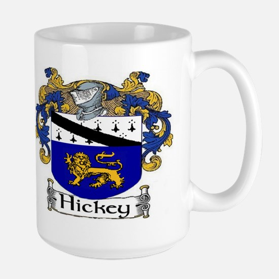 Hickey Coat of Arms Large Mug