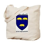Abrahall Coat of Arms Tote Bag