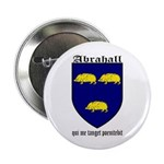 "Abrahall Coat of Arms 2.25"" Button (10 pack)"
