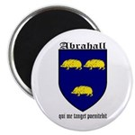 "Abrahall Coat of Arms 2.25"" Magnet (10 pack)"