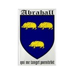 Abrahall Coat of Arms Rectangle Magnet