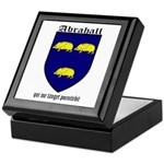 Abrahall Coat of Arms Keepsake Box