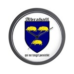 Abrahall Coat of Arms Wall Clock