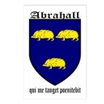 Abrahall Coat of Arms Postcards (Package of 8)