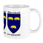 Abrahall Coat of Arms Mug