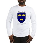 Abrahall Coat of Arms Long Sleeve T-Shirt