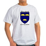 Abrahall Coat of Arms Ash Grey T-Shirt