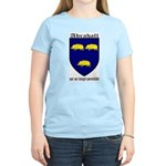 Abrahall Coat of Arms Women's Pink T-Shirt