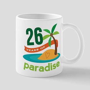 26th Anniversary Paradise Mug