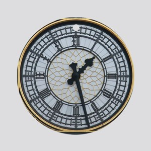 BIG BEN London Pro Photo Ornament (Round)