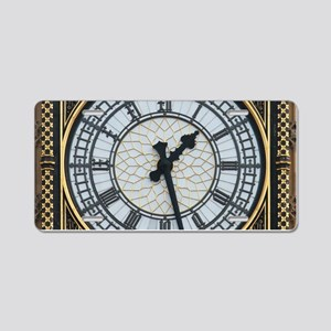 BIG BEN London Pro Photo Aluminum License Plate