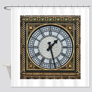 BIG BEN London Pro Photo Shower Curtain