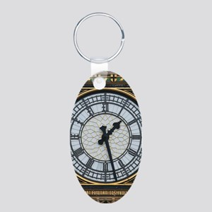 BIG BEN London Pro Photo Aluminum Oval Keychain