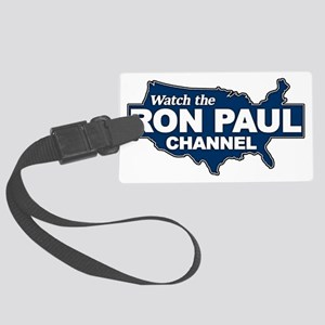 Watch the Ron Paul Channel Large Luggage Tag